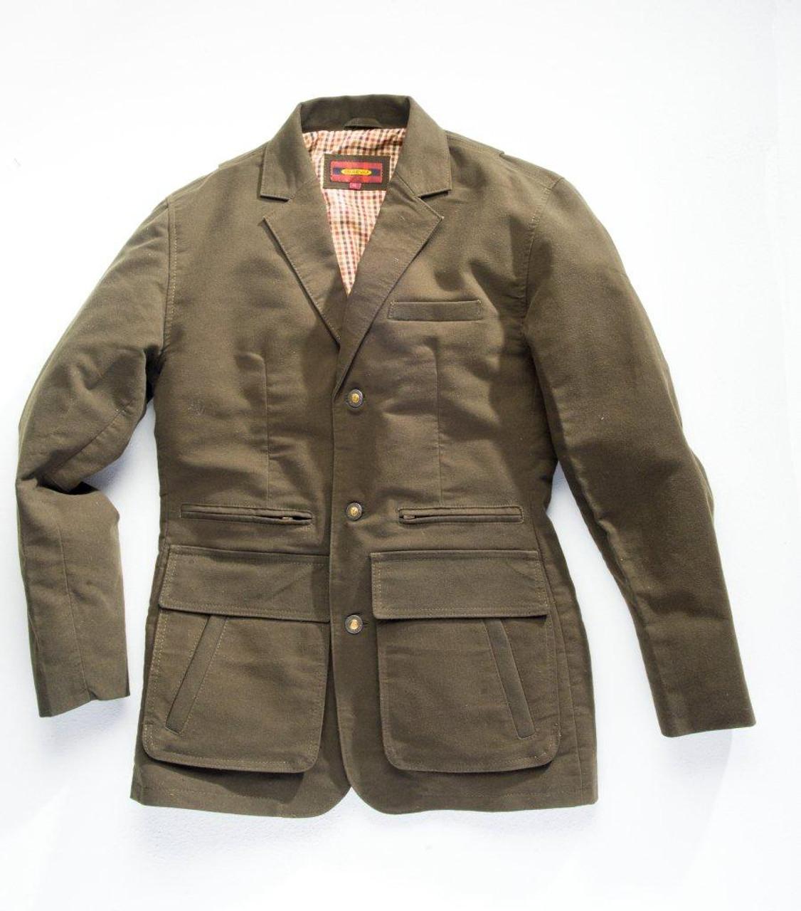 Exventurer Moleskin Sports Jacket - Ecosse Green