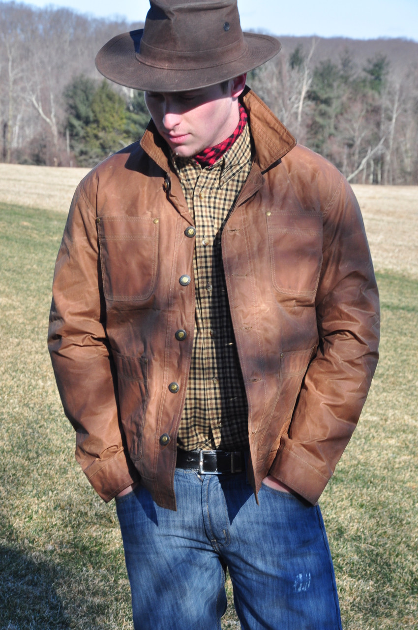 Crofters Jacket - Storm Glen Waxed Cotton