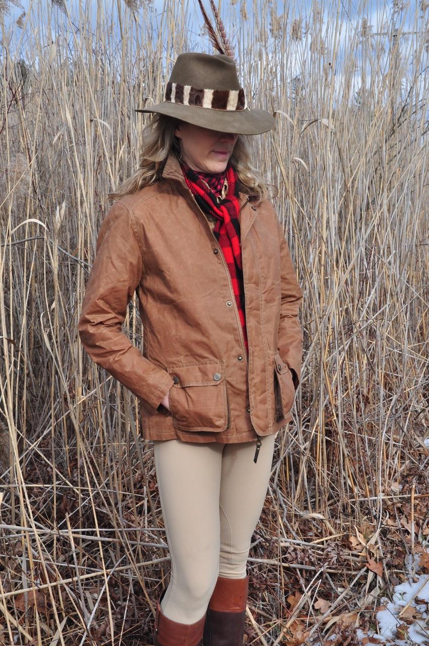 Storm Glen Waxed Cotton Exventurer Jacket - Caramel