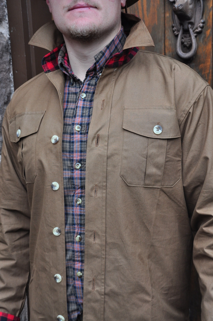 GUNI - 6.5 JACSHIRT  IN BRUSH CUTTER CANVAS