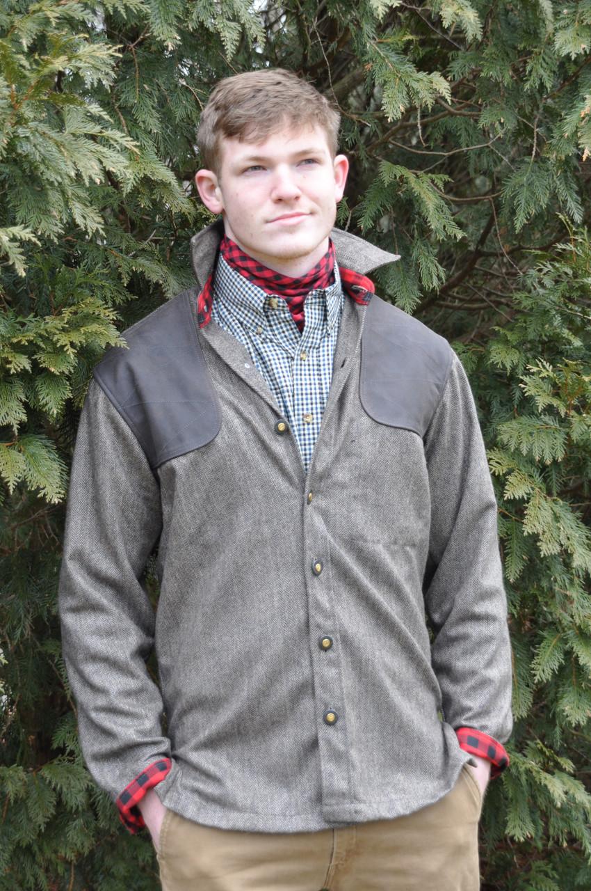 Grand Uplander JacShirt - Harris Grey Tweed