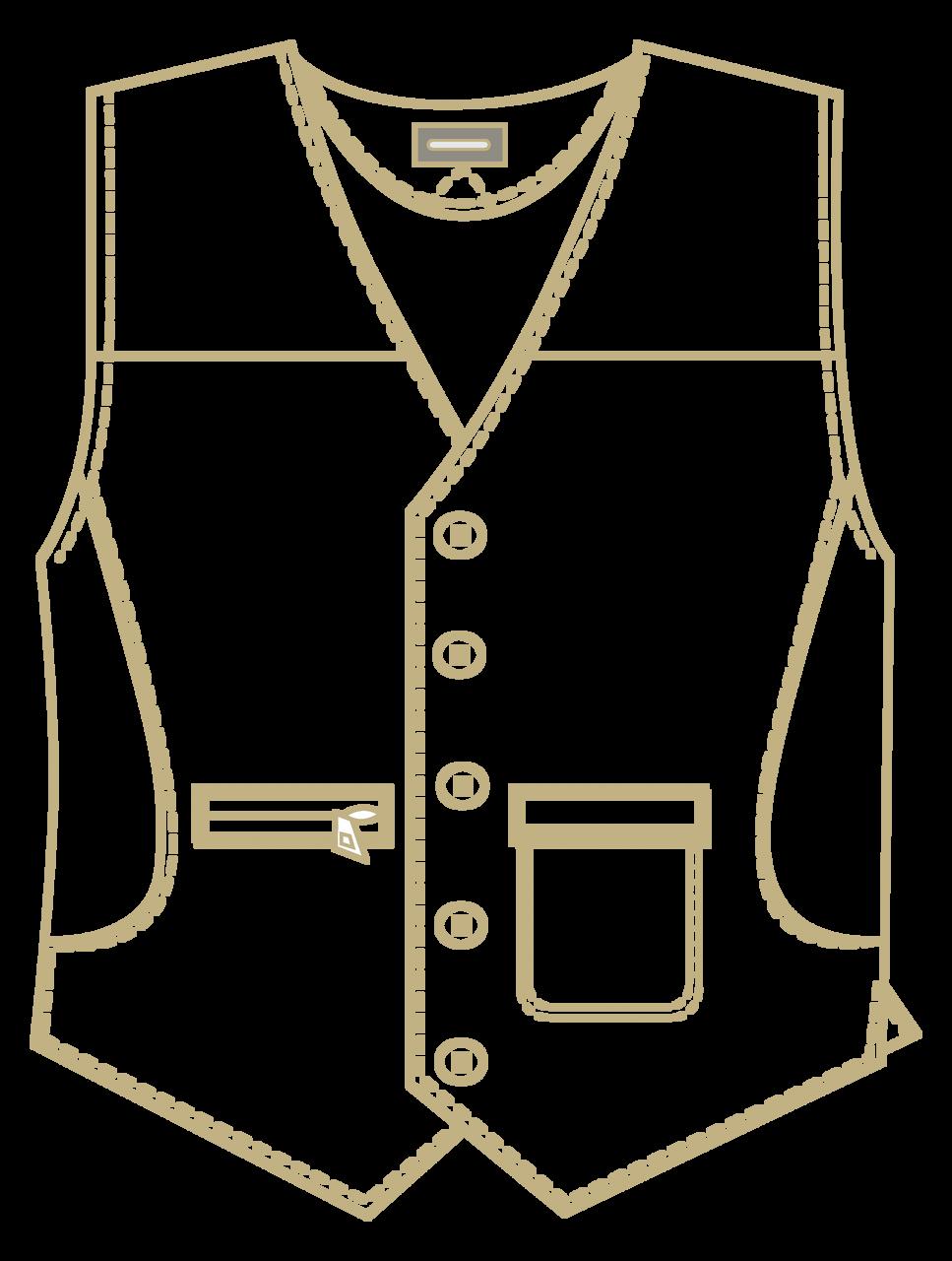 Litchfield Vest - Harris Grey Tweed