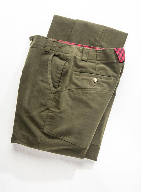 Highland Moleskin Trousers - Loden
