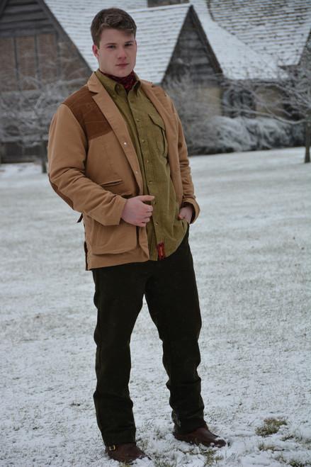 Estate Artemis Moleskin Sports Jacket - Camel