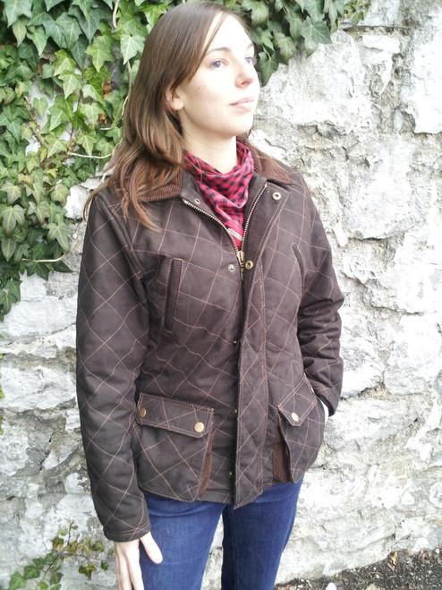 Women's Exventurer Buffalo Nubuck Jacket - Molasses