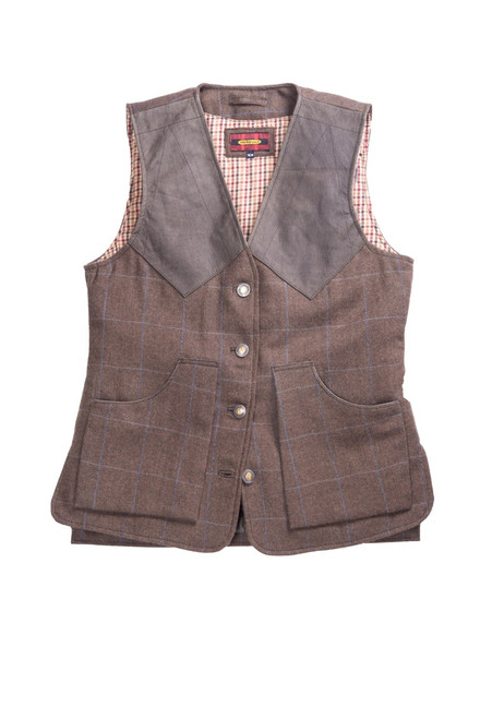 Women's Artemis Tweed Wood Vest