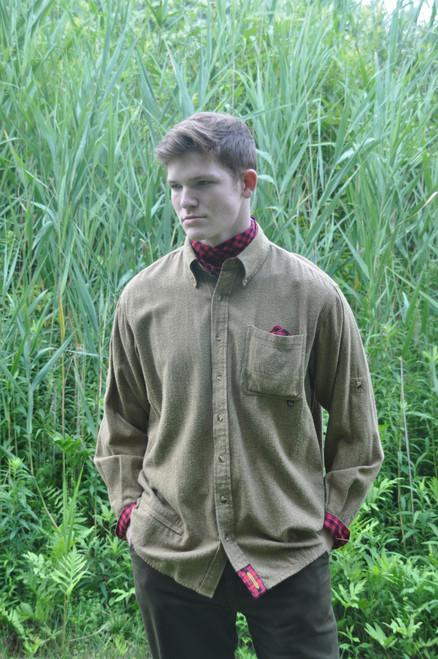 Litchfield - Saffron Shetland Flannel