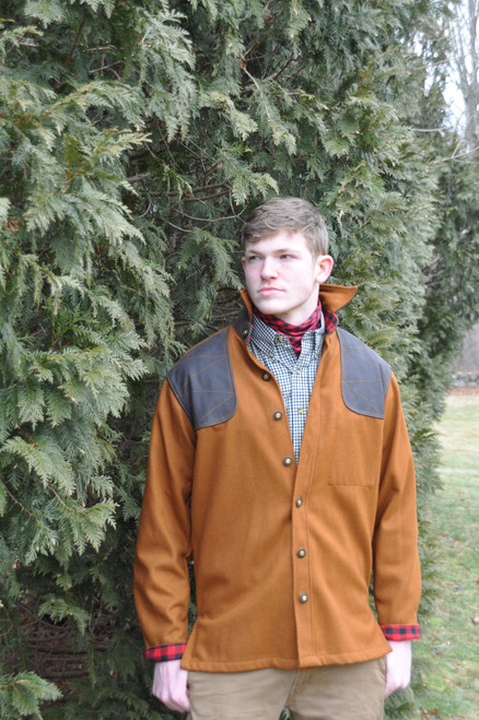 Grand Uplander Wool JacShirt - Tobacco Brown