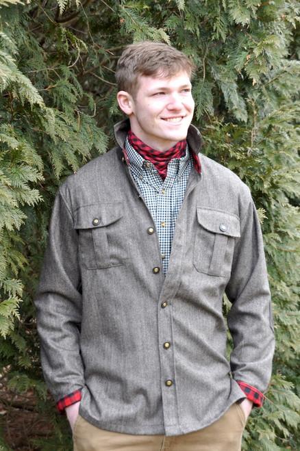 Gunnison - Harris Grey Tweed