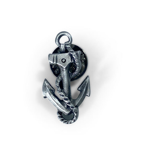 Pewter Anchor Pin