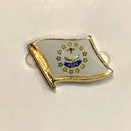 Rhode Island Flag - Pin