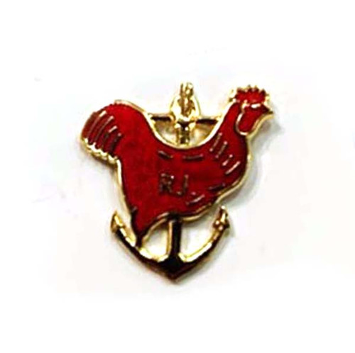Rhode Island Red Rooster Pin