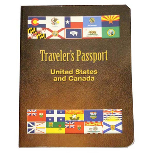 Traveler's Passport - United States and Canada
