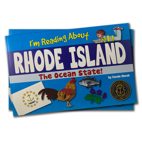 I'm Reading about Rhode Island the Ocean State!