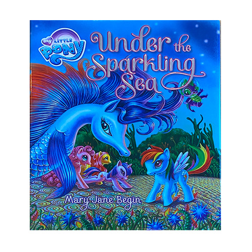 Under The Sparkling Sea, fun for kids by our local writer Mary Jane Begin. Size 11.5 x 9.5