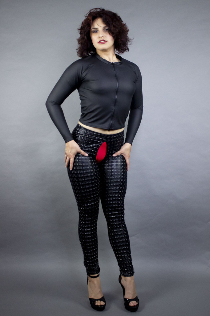 Crotchless Leggings