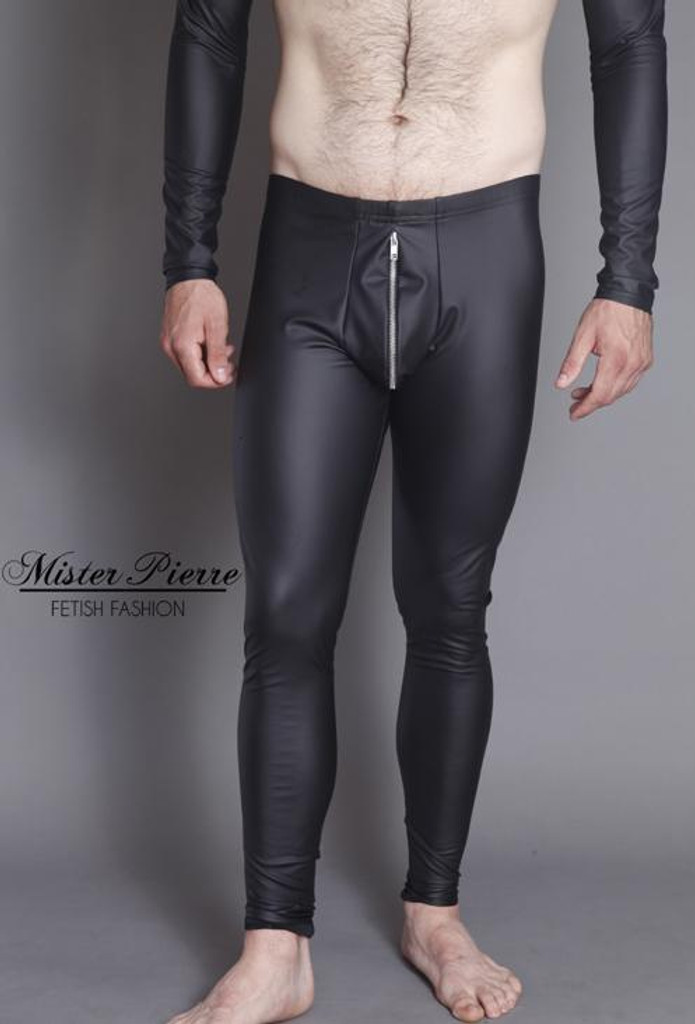 Pouch Front  Tight Ankle Leggings