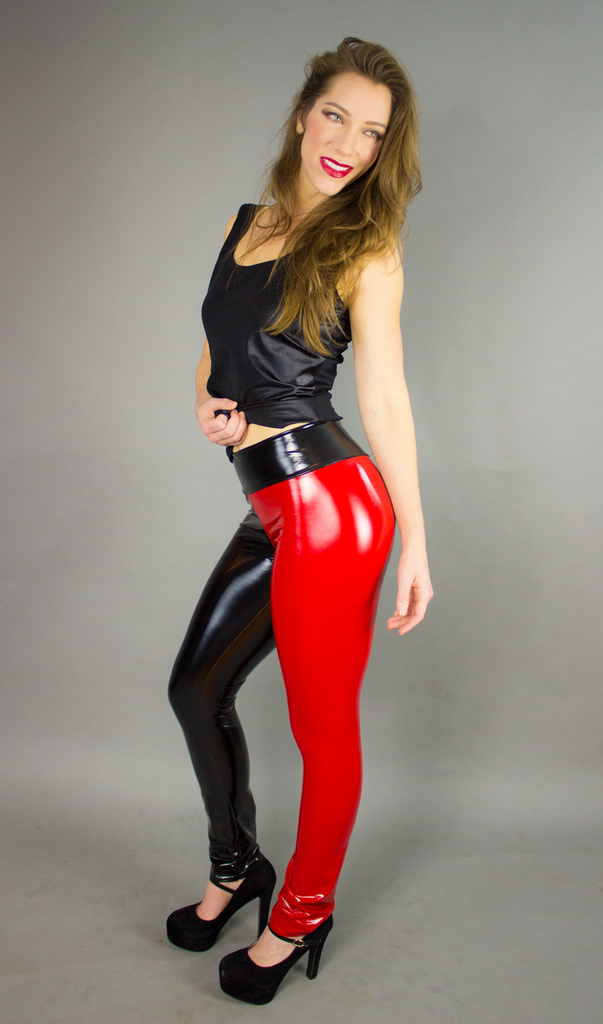 2 Color Straight Ankle Leggings