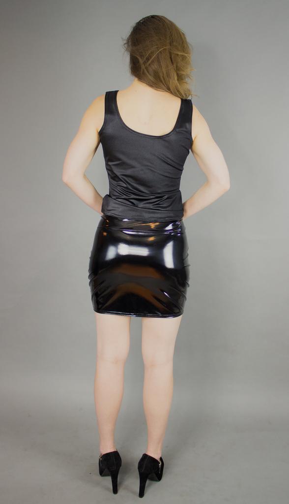 Custom Separating Zipper Mini Skirt
