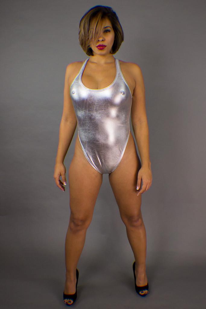 Keyhole Back Bodysuit