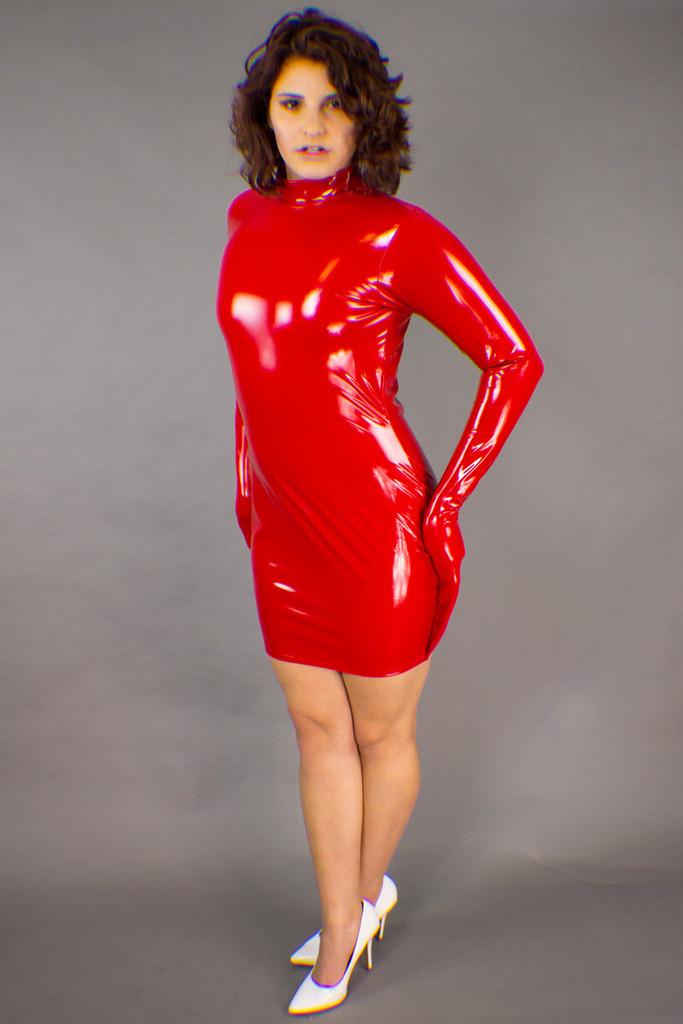 Arm Binding Mini Dress