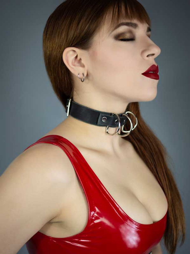 Polyamory 3 D Ring Collar
