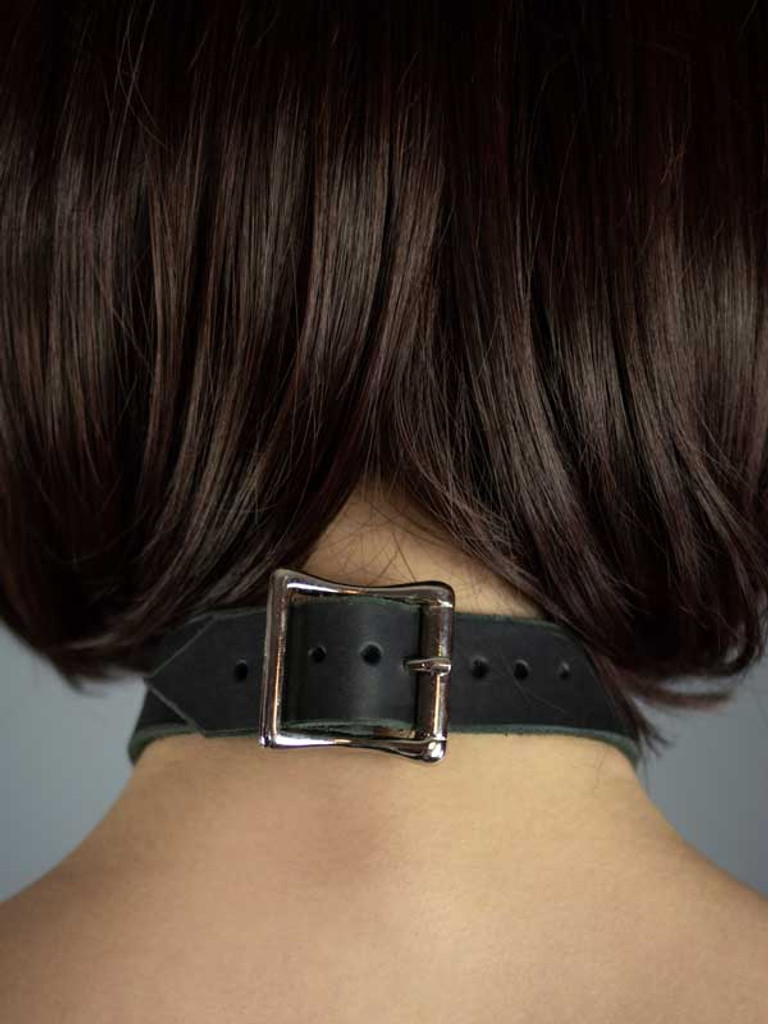 Leather Ring Collar