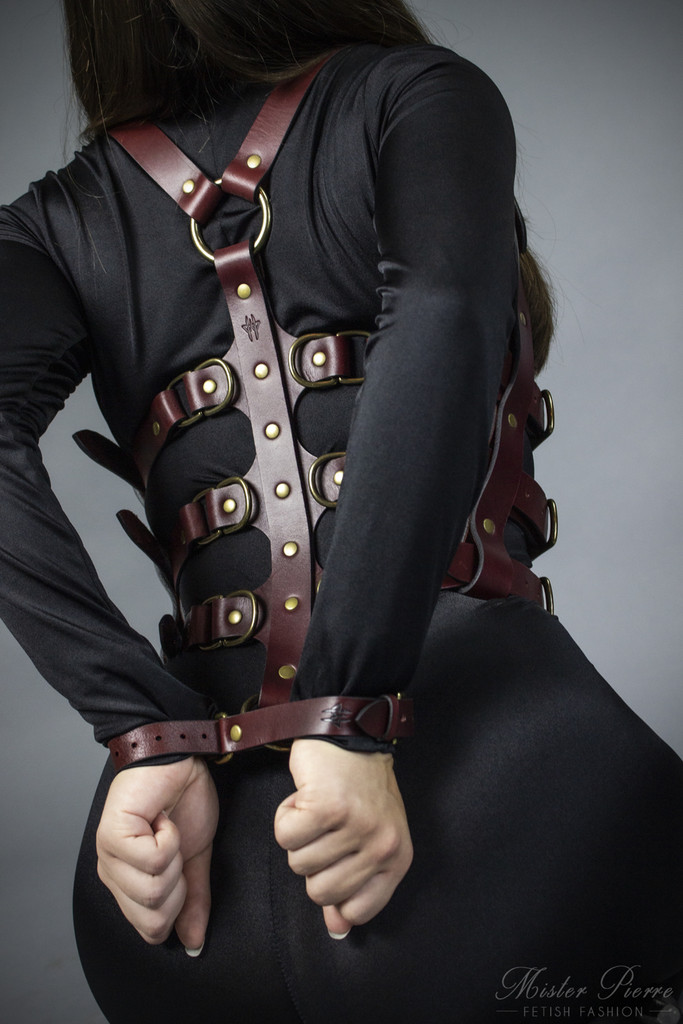 Adjustable Leather Harness