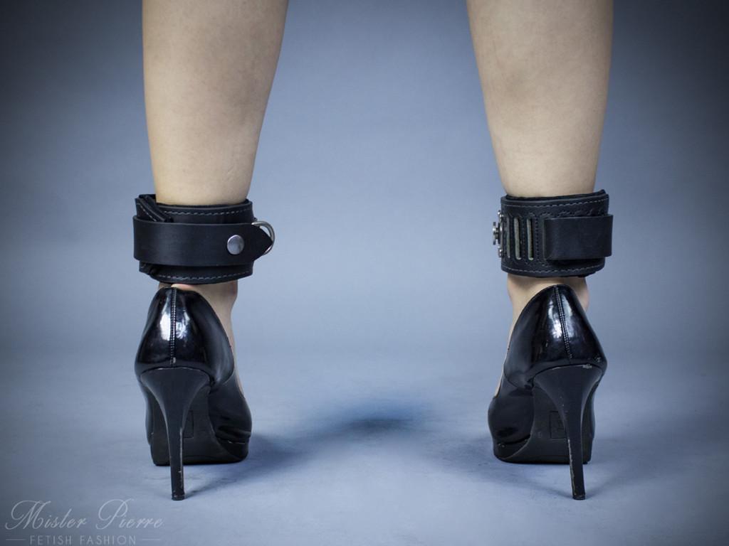 Slide lock Ankle Cuffs