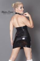 Custom Halter Top Mini Dress