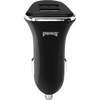 Black Two Port Car Charger