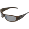Shiny Crystal Grey Stripe Frame Black Rubber Tips Smoke Lens