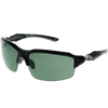 Matte Black Frame Gray Rubber G15 Green Lens