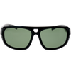 Shiny-Matte Black Frame G15 Green Lens