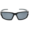 Black-Silver Frame Smoke rubber Smoke Lens