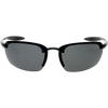 Black Dark Gray Rubber Smoke Mirror Lens