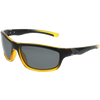 Matte Black-Crystal Bright Yellow Gradient Frame Smoke Lens