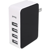Black Four Port Wall Charger