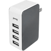 Gray Four Port Wall Charger