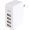 White Four Port Wall Charger