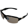A2 Sport Semi-Rimless Wrap-Around Sunglasses
