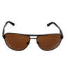 Pilot-Shiny Gunmetal frame Brown lens