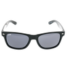 Shiny Black Single Stud Frame, Smoke Lens