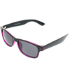 Shiny Black-Crystal Purple Frame Smoke Lens