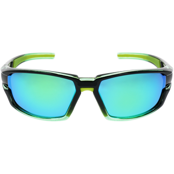 Black-Crystal Green Frame Green rubber Green Revo lens