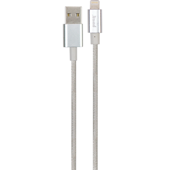 Silver lightning charge/sync cable
