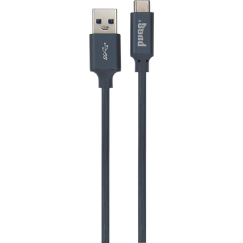 Black  type c charge/sync cable