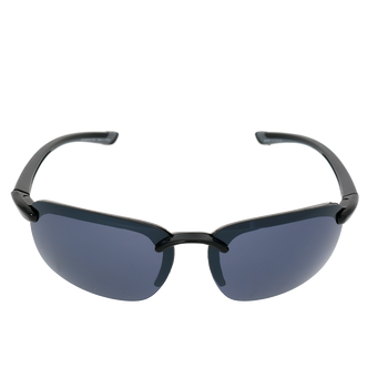 A8 Sport Rimless Wrap-Around Sunglasses