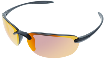 Crystal Gray frame, Red Multi-Mirror Hydrophobic Polarized lens