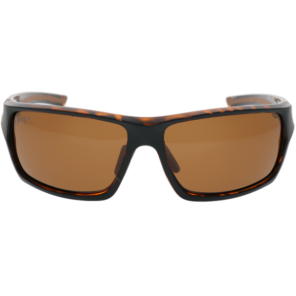 Matte Black-Yellow Demi Dark Brown Rubber Brown Lens